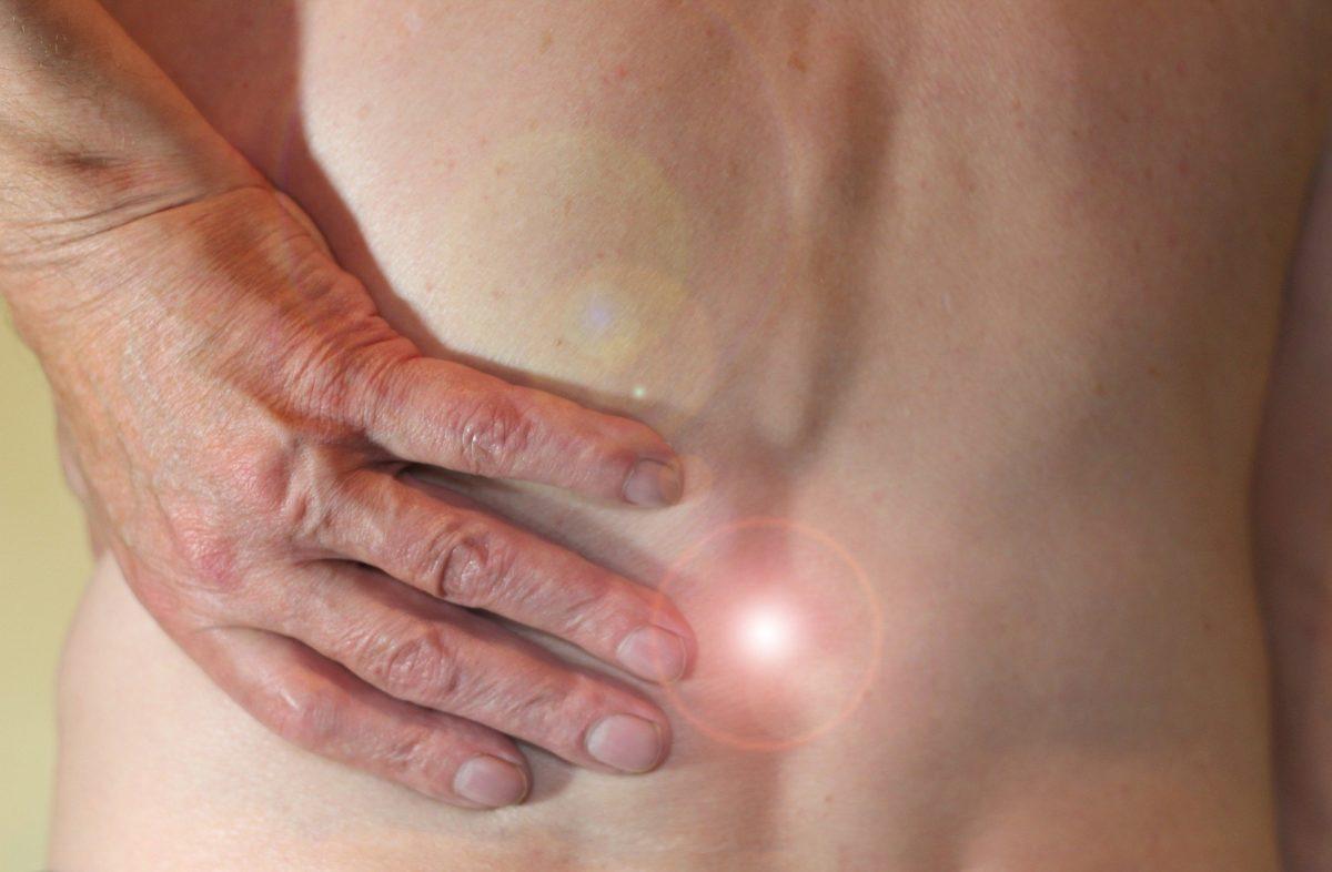 Verletzung des Steißbeins